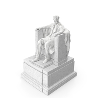 Lincoln Memorial Statue PNG & PSD Images