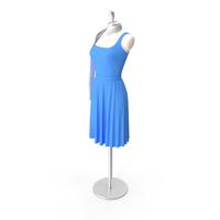 Showroom Dummy - Elegant Dress PNG & PSD Images