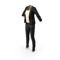 Women's Casual Suit PNG & PSD Images