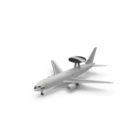 AWACS Boeing E767 PNG & PSD Images