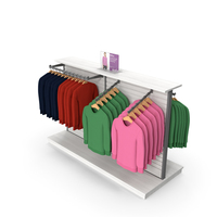 Womens Sweatshirt Display Rack PNG & PSD Images