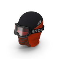 Balaclava Ski Face Mask with Goggles PNG & PSD Images