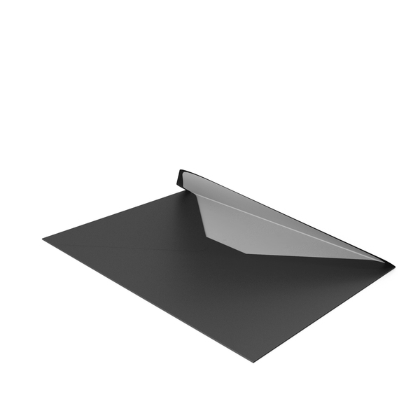 Black and White Envelope PNG & PSD Images