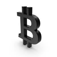 Bitcoin Symbol Plastic PNG & PSD Images