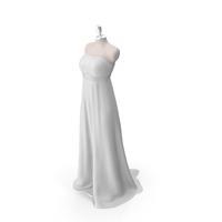 Showroom Dummy  - Wedding Dress PNG & PSD Images
