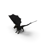 Black Mythical Dragon PNG & PSD Images