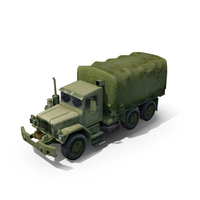 Military Truck M35 2½ Ton Cargo PNG & PSD Images