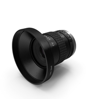 Camera Lens With Hood Generic PNG & PSD Images