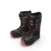 Camo Black Boots PNG & PSD Images