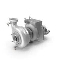 Car Turbo Turbine Turbocharger PNG & PSD Images