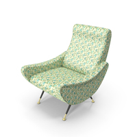 Sixties Armchair PNG & PSD Images