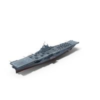 USS Bunker Hill (CV-17) 1943-1945 PNG & PSD Images