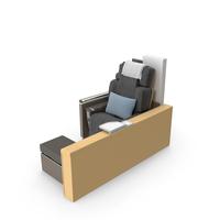 Lufthansa 1st Class Premium Seat PNG & PSD Images