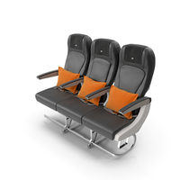 Airplane Economy Seats PNG & PSD Images
