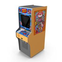 Donkey Kong Jr Arcade PNG & PSD Images