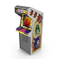 Dig Dug Arcade Machine PNG & PSD Images