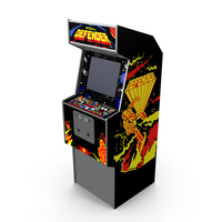 Defender Arcade Machine PNG & PSD Images