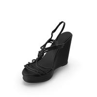 Women's Shoes Black PNG & PSD Images