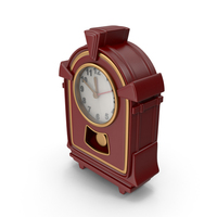 Wooden Table Clock PNG & PSD Images