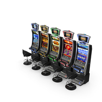 Casino Slot Machines PNG & PSD Images