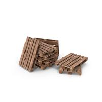 Wooden Pallets Heap PNG & PSD Images