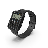 Casio Data Bank Calculator Watch PNG & PSD Images