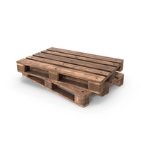 Wooden Pallets Duo PNG & PSD Images