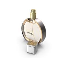 Chanel Chance Eau Parfum Vaporisateur Parfum Bottle PNG & PSD Images