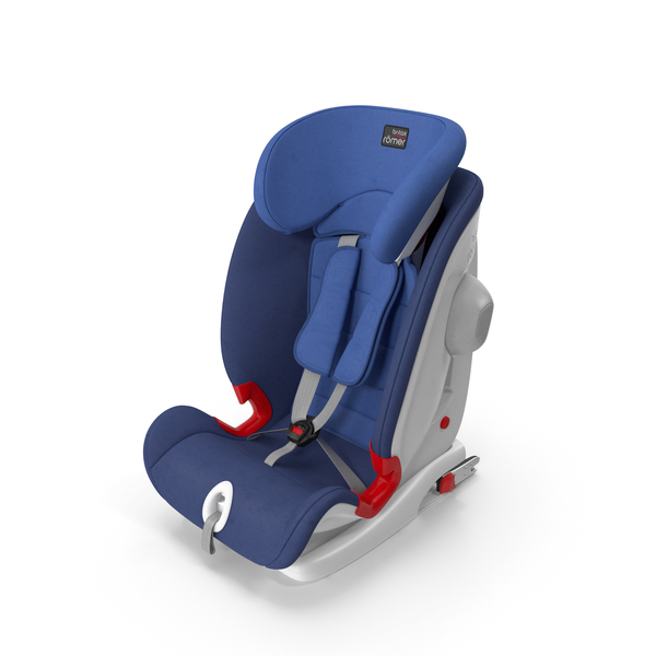 Child Safety Seat Blue Britax Romer PNG & PSD Images