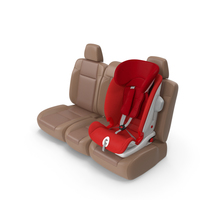 Child Safety Seat on Car Seat PNG & PSD Images