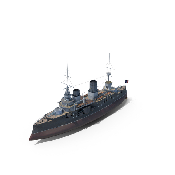 French Battleship Bouvet Gallipoli PNG & PSD Images