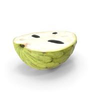 Chirimoya Fruit Half PNG & PSD Images