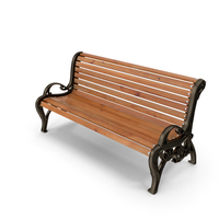 Classic Park Bench PNG & PSD Images