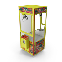 Claw Vending Machine Empty PNG & PSD Images