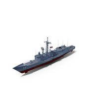 Frigate USS Kauffman FFG-59 PNG & PSD Images