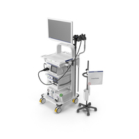 Endoscopic System Olympus Evis X1 01 PNG & PSD Images