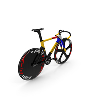 Colored Track Bike Dolan DF4 Carbon PNG & PSD Images