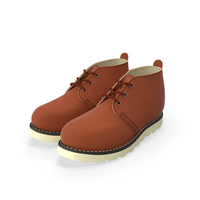 Chukka Work Boots PNG & PSD Images