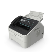 Compact Laser Fax Machine Brother 2840 PNG & PSD Images