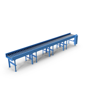 Conveyor Belt Roller Blue PNG & PSD Images