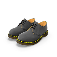 Leather Black Shoes PNG & PSD Images