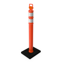 Delineator Barrier PNG & PSD Images