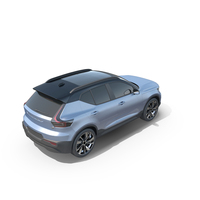 Volvo XC40 Recharge PNG & PSD Images