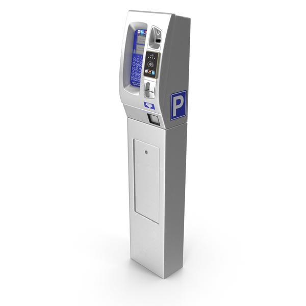 Digital Parking Meter PNG & PSD Images