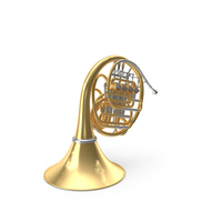 Double French Horn PNG & PSD Images
