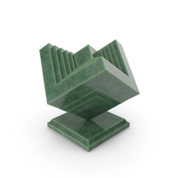 Modern Sculpture B Aventurine PNG & PSD Images
