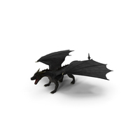 Dragon Attacking Pose PNG & PSD Images