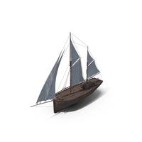Old Boat Sailboat PNG & PSD Images