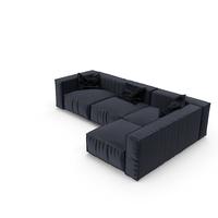 Dark Grey Sofa PNG & PSD Images