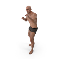 Athletic Man Boxing PNG & PSD Images